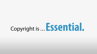 Copyright is... essential