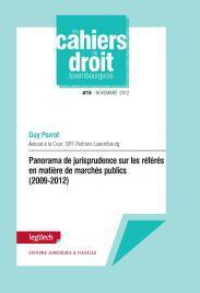 Cahier du droit luxembourgeois n°16