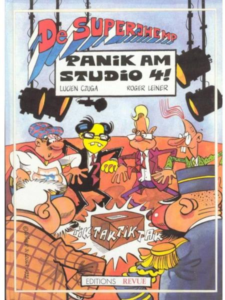 De Superjhemp - Panik am Studio 4