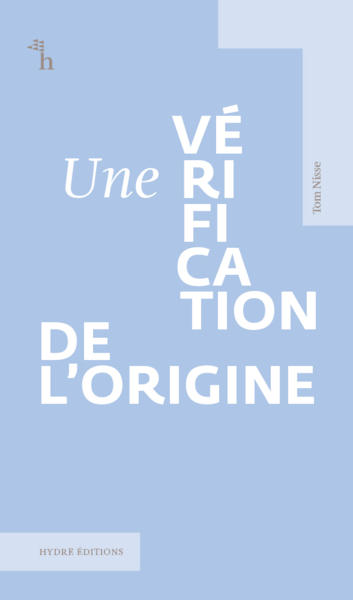 Une vérification de l'origine (Collection Courts)